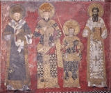 Свт. Никодим и Савва Сербские, Стефан Дечански, царь мч. и св. царь Душан