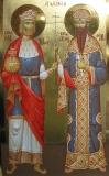 Св. Олаф II, краљ Норвешки и Св. Краљ Стефан Дечански