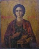 икона Вмч Пантелеймон Целитель