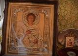 Икона Пантелеймон Целитель с мощами