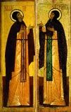 Икона Князь Петр и княгиня Феврония Муромские