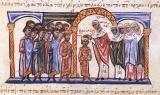 Патриарх Полиевкт коронанует Василия II в качестве со-императора