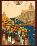 100000 мучеников Тбилисских :: Сто тысяч Тбилисских Мучеников