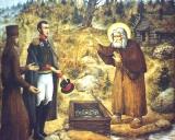 Преподобный Серафим Саровский прогоняет масона