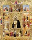 Преподобный Серафим Саровский с житием