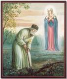 Явление Божией Матери  преп. Серафиму Саровскому на канавке