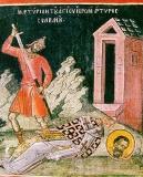 Сильван Кесийский :: Мучение Сильвана, епископа Кесийского
