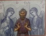 Преподобный Симеон, Христа ради юродивый