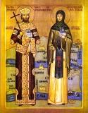 Sv. Stefan i Jelena Štiljanović šikloških