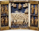 Триптих с изображением сорока мучеников