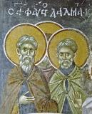 Преподобные Фавст и Далмат Далматские