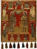 Феодор Сикеот и Георгий с избранными святыми и праздниками