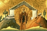 Авксентий Вифинский :: Преподобный Авксентий Вифинский (Халкидонский)