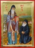 Прп. Арсений Каппадокийский и Паисий Святогорец