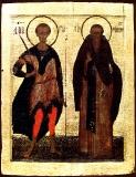 Свв. Дмитрий Солунский и преподобный Антоний