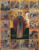 Прпеподобный Антоний с житием.