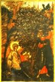 Святое семейство отдыхает под деревом (