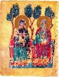 Богоматерь и лоно Авраамово