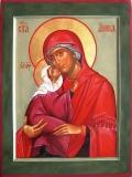 Праведная Анна с младенцем-Богоматерью