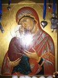Анна праведная и Пресвятая дева Мария