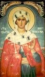 Великомученица  Злата (Хриса) Мегленская