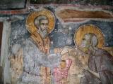 Стенопис на Св. Зосим и Св. Мария Египетска