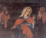 Мученица Мария Магдалина, Св. Харалампий и Пресвятая Богородица с Богомледенцем