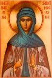 Макрина преподобная :: Преподобная Макрина, сестра святителя Василия Великого