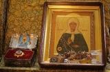 Икона Матрона Московская с мощами