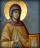Нонна Назианзина :: Праведная Нонна, мать святителя Григория Богослова