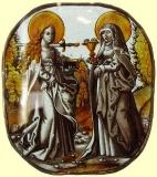 Святые Луция и Одилия
