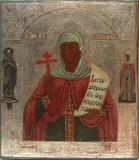 Святая мученица Параскева, нареченная Пятницею с избранными святыми на полях