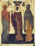 Святые Параскева, Варвара, Ульяна. XIV в