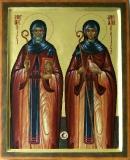 Схоластика Нурсийская :: Преподобные Бенедикт и Схоластика