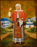 Филофея Румынская :: Мученица Филофея Румынская, Тырновская, Арджешская