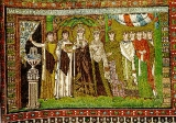 Феодора, царица :: Императрица Феодора со свитой