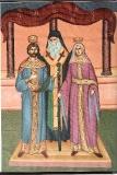 Феодора, царица Эпира :: Венчание Эпира Михаилом с преподобной Феодорой