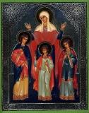 Святая София и ее дочери Надежда, Вера и Любовь