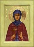 Преподобная Емилия Каппадокийская