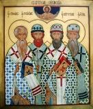 Икона Четыре Святителя Пермских
