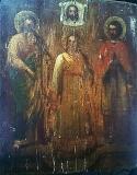 Икона Святые Гурий,  Авив Едесский Самон.