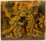 Авва Антоний Великий и преподобный Павел Фивейский