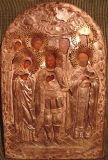 Икона, в память спасения государя императора и августейшей семьи во время крушения поезда в 1888 г.