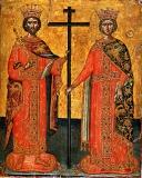 Равноапостольный царь Константин, равноапостольная царица Елена
