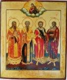 Медост, Власий и Лавр :: Святые Медост, Власий и Лавр