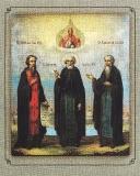 Зосима, Савватий и Герман Соловецкие  :: Преподобные Зосима, Савватий и Герман Соловецкие чудотворцы