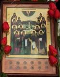 Собор Оптинских старцев :: Икона