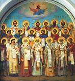 Всех святых во Святой Горе Афонской просиявших