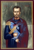 икона святого Царя мученика Николая I,