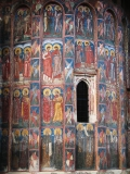 Роспись внешней стены храма